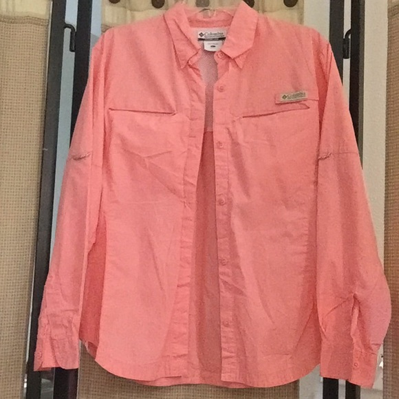 5a200e108b1 Columbia Tops | Pink Shirt | Poshmark